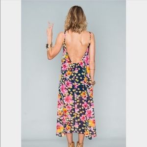 SMYM Hey You Back Dress - Dream of Daisies
